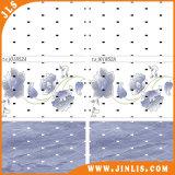 Mattonelle di pavimento di ceramica a prova d'umidità della parete della stanza da bagno del fiore della decorazione 3D