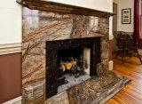 Натуральный материал гранитной плиткой камин/плитой объемного звучания