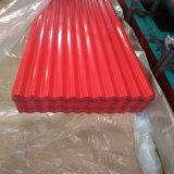 Кровля из гофрированного картона Крыши с покрытием PPGI Prepainted цвет цинк PPGL Galvalume оцинкованного стального листа