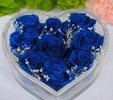 Elegante Caja de la flor de acrílico con cajón