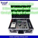 Detector subterráneo de Epx7500 Metel para el agua, oro, plata
