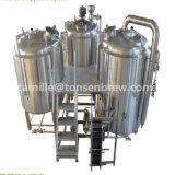 ビール醸造装置の醸造物のやかん