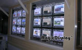 Magic Crystal Light Box con estante