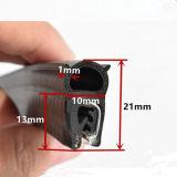 À prova de extrusão de borracha flexível/Perfil com pinçamento da régua de aço