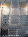 O alumínio metálico de punção perfurada para filtro de chapa de aço