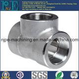 Haute précision d'ODM usinant le joint de pipe d'acier inoxydable