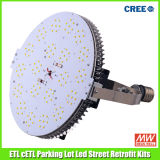 ETL cETL Approved를 가진 200 와트 LED Parking Lot Lamp