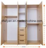 خشب مضغوط خشبيّة خزانة ثوب/مقصورة من مصنع