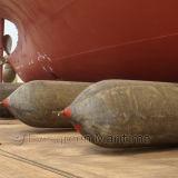 Bolsa a ar de borracha de levantamento do navio pesado inflável marinho
