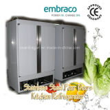Congelatore solido della cucina dei 2 portelli