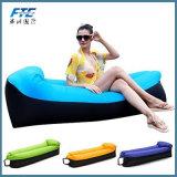 Öffnender im Freien schnelles aufblasbares Luft-Sofa-fauler Beutel des Mund-zwei