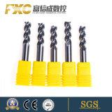 Fxc для настольных ПК для изготовителей оборудования 3 флейта HSS конец мельница для алюминиевых сплавов