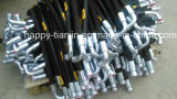 Asambleas de goma de alta presión hidráulicas del manguito y de las guarniciones
