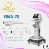 Fu4.5-2s gebeurt de Hoge Frequentie (1.5mm, 3.0mm, 4.5mm) Elk Uiteinde de Machine van Hifu van 15000 Schoten voor de Verwijdering van de Rimpel