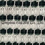Elegante Poli/Rayon/ Tecido tricô (QF13-0675)