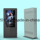 Montón de carga de 55 pulgadas LCD al aire libre Android quiosco en el suelo