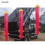20 인치 치기 덤프 트럭 단 하나 작동 용접된 액압 실린더