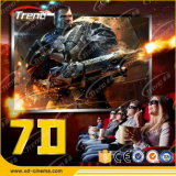 Zhuoyuan Hydraulic/Electric 7D Cinema Interactive con diversi giocatori Games
