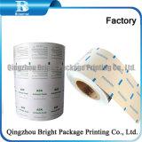 Film Laminado de aluminio de alta calidad para el envasado de bebidas alcohólicas almohadilla Prep.