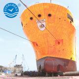 Barco marino el lanzamiento de Globo de goma para secar el acoplamiento