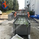 Máquina de proceso de la sequedad del corte de la col que se lava comercial automática llena