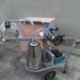 Электрические коровы Milker машинного доения один вакуумный насос ковша