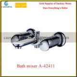 Doppelter Griff-gesundheitlicher Ware-Badezimmer-Wasser-Bassin-Hahn