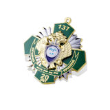Insigne d'organisation d'émail, Pin de revers de Custome (GZHY-LP-021)