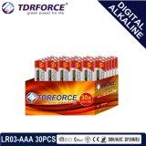 bateria seca alcalina preliminar de Digitas da manufatura de 1.5V China (LR6-AA 20PCS)
