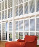2017 terminou a inclinação escondida Rod das cortinas dos obturadores madeira interior