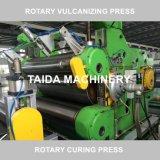 Rotocureの出版物機械ゴム製コンベヤーベルトのドラム加硫装置