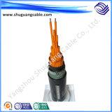 Retardante de chama XLPE com bainha de cabo de controle