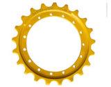 Las piezas Kobelco SK210LC-8 Topadora excavadora sobre orugas de tren de rodaje de la rueda dentada