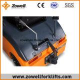 Trator elétrico novo de um reboque de 4 toneladas do Ce do ISO 9001 de Zowell que senta-se no tipo