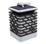 El oscilar solar de la linterna de la luz de la luz del jardín de la lámpara de la vela/linterna solar del LED
