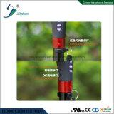 Rechargeable avec le bâton de marche intelligent par radio, canne intelligente avec la pipe contractée