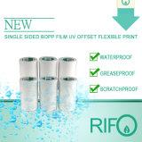 Impermeable y resistente al rasgado de color blanco de papel sintético de PP para el paquete de alimentos