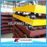 Linha de molde carro usado do equipamento da fundição da pálete para a fundição