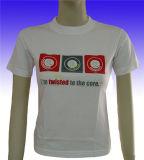 Fabrik-Fertigung-Form-Kleid-Frauen druckten T-Shirt