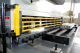 La macchina di taglio della ghigliottina idraulica di QC11y-6*3200mm/la macchina di taglio piatto idraulico/ha veduto la macchina di taglio con l'angolo di taglio registrabile