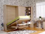 Sepsion Вертикальный Наклоняемые Single Murphy Wall Кровать с офисным столом и полкой FJ-22 кровать Спальня