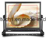 Une entrée SDI de diffusion moniteur LCD 15 pouces