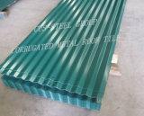 Aluzincの金属の屋根瓦か波形PPGLの鋼鉄屋根シート