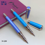 Le métal fantastique de logo de crayon lecteur fait sur commande en gros d'impression gravent le crayon lecteur de rouleau
