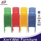 Preiswerter sicherer beständiger bunter Plastikkind-Stuhl für Kindergarten