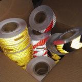 Bande réfléchissante en PVC jaune pour la sécurité