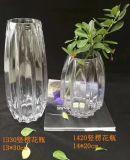 La beauté Pearl Vase Vase en verre de glace pour la décoration florale