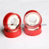 赤いOutershellのパッキングPTFE Tape/PTFE糸のシールテープかテフロンテープ
