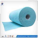 100% Viskose-Polyester Spunlace nicht gesponnenes Gewebe in der Rolle