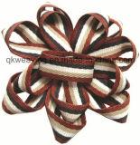 Baumwollfarbband-Blumen-Farbband-Bogen für Kleidung